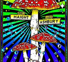 Haight Ashbury Posters, T shirts, Mugs and more at RedBubble