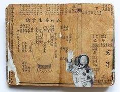 Juan Rayos  Chinese Moleskine