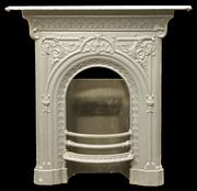 Painted cast iron fireplace. Arianna's room? | House Ideas ...