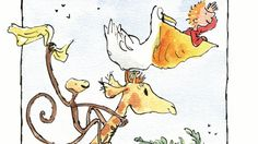 Roald Dahl's The Giraffe and the Pelly and Me, illustrated by Quentin Blake. Roald Dahl Activities, Activities For Kids, Giraffe Illustration, Quentin Blake, Baby Wraps, Teamwork, Lesson Plans, Disney Characters, Fictional Characters