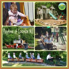Playtime at Coombe Mill Farm Holidays