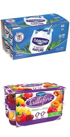 Danone Nature & Danone Taillefine