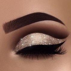 Eye Makeup Steps, Makeup Eye Looks, Eye Makeup Art, Smokey Eye Makeup, Cute Makeup, Pretty Makeup, Eyeshadow Makeup, Makeup Tips, Makeup Ideas