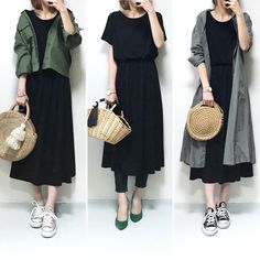 Cheap High Fashion Women S Clothing Japanese Outfits, Korean Outfits, Japanese Fashion, Skirt Fashion, Hijab Fashion, Fashion Outfits, Womens Fashion, India Fashion, Japan Fashion Casual