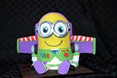 Buzz Lightyear Minion - Coxie's Cakes