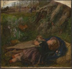 Arthur Hughes 'The Woodman's Child', 1860