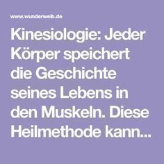 Kinesiologie: Selbstheilung durch Berühren Kinesiology: Every body stores the history of its life in the muscles. This healing method can restore body, mind and soul Health Tips, Health And Wellness, Health Care, Health Fitness, Health Cleanse, Yoga For Flexibility, Wonder Woman, Health Promotion, Self Healing