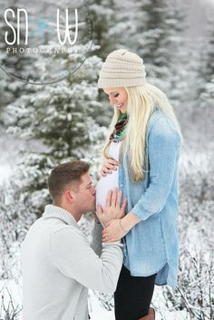 Snow maternity.  Beautiful winter shoot                                                                                                                                                                                 More