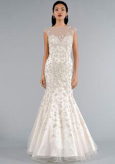 Dennis Basso for Kleinfeld 14021 Mermaid Wedding Dress