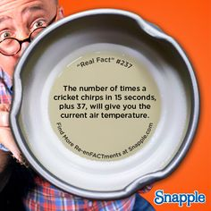Snapple Re-enFACTments: Real Fact #237:
