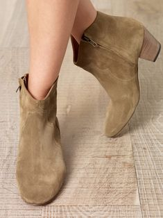 Isabel Marant Dicker suede boots | eWomenShoes