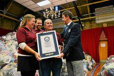 Rescue Mission of Trenton breaks Guinness World Record