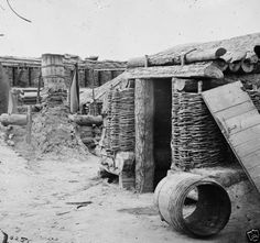 Confederate-Trenches-Shelter-Petersburg-Virginia