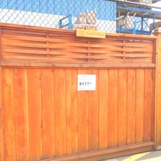 10 Limitless Clever Tips: Small Fence Modern decorative fence indoor.Backyard Fence Wood how to make a fence door.Temporary Fence How To Build. Brick Fence, Front Yard Fence, Farm Fence, Cedar Fence, Fenced In Yard, Fence Stain, Concrete Fence, Pallet Fence, Fence Art