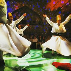 I am spellbound by the Whirling Dervishes of Istanbul! Their blend of synchronisation,  coordination and concentration is unbelievable! Watching these Dervishes has been on my wishlist & I'm ecstatic I got to see them! They whirl and whirl for more than 30 mins at a stretch and not one person misses a step. awestruck! #Istanbul #Turkey #WhirlingDervishes #HodjaPasha #Travel #Traveldiaries