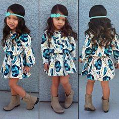 Kids stylish frock style