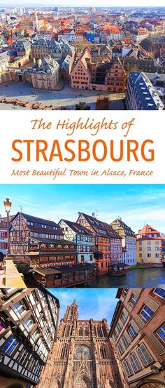 See the main highlights of Strasbourg France with this one day itinerary that includes all the information you need to get the most of your trip. Plus a great off the beaten path tip as well. Check it out!