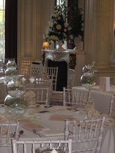 Beautiful wedding set up at Hamilton Place, London