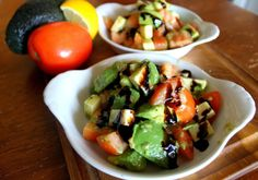 Tomato Avocado and Cheese Salad: The Simple Treat