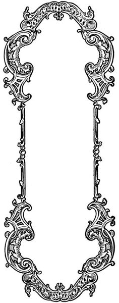 :: frame tattoo design :: this is exactly what I want around my Mucha thigh piece.