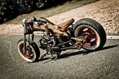 Honda dax custom lowrider chopper ratlook