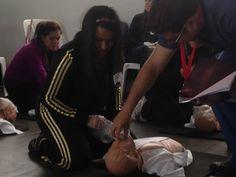 Capacitación de primeros auxilios - Respiración bucal