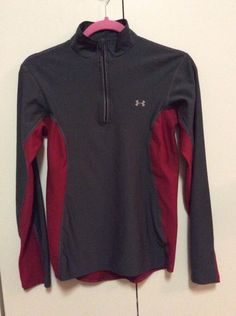 UNDER ARMOUR BASE JACKET PULLOVER BOY SMALL GRAY RED in Clothing, Shoes & Accessories, Kids' Clothing, Shoes & Accs, Boys' Clothing (Sizes 4 & Up)   eBay