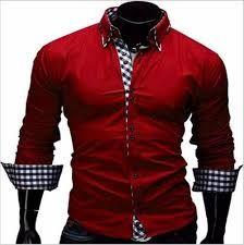 Resultado de imagen para camisas de caballero