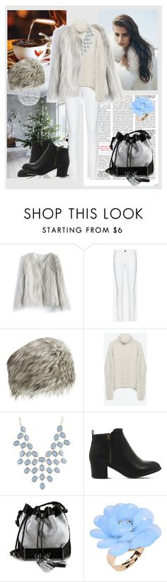 """""""Senza titolo #919"""" by robbycart ❤ liked on Polyvore featuring Chicwish, Frame Denim, Neiman Marcus, Zara, Charlotte Russe, Office, Carianne Moore and Dettagli"""