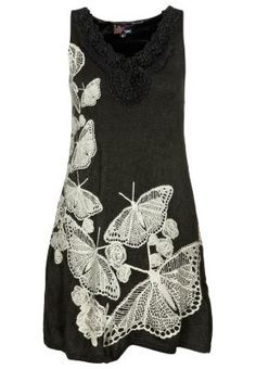 butterfly embellished dress