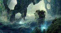 Digital Arts, Featuring Fantastic Sceneries