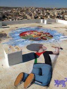 SETH Globepainter en Israel
