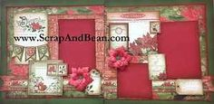 Beautiful and vintage, this December project is a great way to showcase your favourite photos.  With many, many layers, and even some 3D flowers, this kit is geared for the not-so-beginner.  Not meant to be your first scrapbook project.  It does come with full instructions, and of coarse the materials as well.     Visit Scrap & Bean.com for more scrapbooking kits.