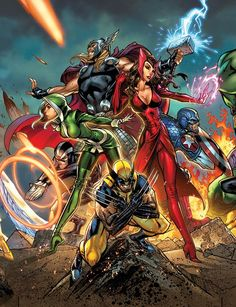 Marvel Comic Art: