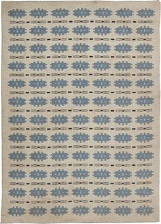 Vintage Rugs: Vintage Rug Swedish Flat weave for Scandinavian scandi interior decor, Scandinavian living room