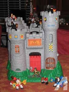 fisher price imaginext castle instructions