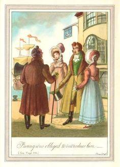 MANSFIELD PARK - illust: Philip Gough https://janeausteninvermont.wordpress.com/tag/regency-period/