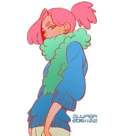 Study, #mint #목도리 - - - - - - By.#guwaba - #캐릭터디자인 #sketch #character #design #illust #illustration #doodle #study #drawing #art #anime #characterdesign #manga #그림 #그림스타그램 #일요일 #졸려 #스케치 #드로잉 #애니 #캐릭터 #디자인 #낙서 #일러스트 #닥치고그림그려