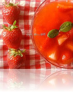 Syntages...apo spiti: Γλάσσο Φράουλας The Kitchen Food Network, Grapefruit, Food Network Recipes, Strawberry, Vegetables, Sweet, Desserts, Tutorials, Pink