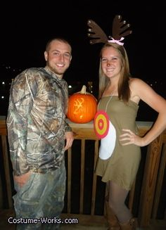 The Deer and the Hunter Halloween costumes - we are so doing this! lol!