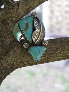 Vintage Turquoise Ring. cute