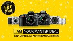 Kurz vor Weihnachten überschlagen sich die Händler mit Sonderaktionen und Deals. Auch Nikon ist dabei. Kunden können sich bis Ende Januar 2016 bei dem Kauf bestimmter Kameramodelle Rabatte bis zu 50 Euro sichern.