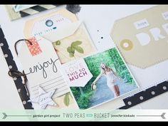Scrap Your Stash: Tags+Bags with Jennifer Kinkade (Two Peas in a Bucket)