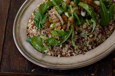 Ottolenghi quinoa red rice salad