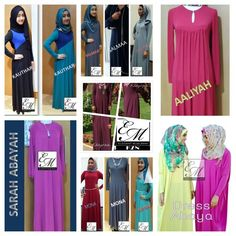 Beautiful dress abayas in gorgeous colours..  www.facebook.com/elegantmuslimahkzn Instagram  @elegantmuslimahkzn