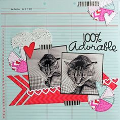 100% Adorable - Scrapbook.com