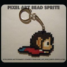 Porte clés alex kidd bead sprite