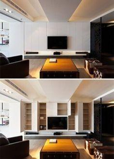 Best Living Room Tv Wall Modern Layout 54+ Ideas #wall #livingroom