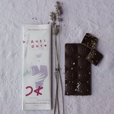 "Antidote ""Panakeia"" Lavender + Red Salt Chocolate"