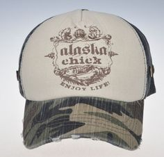Alaska Chicks Co - Alaska Chicks Logo Trucker Hat - More Color Options , $20.00 (http://www.alaskachicks.com/alaska-chicks-logo-trucker-hat-more-color-options/)